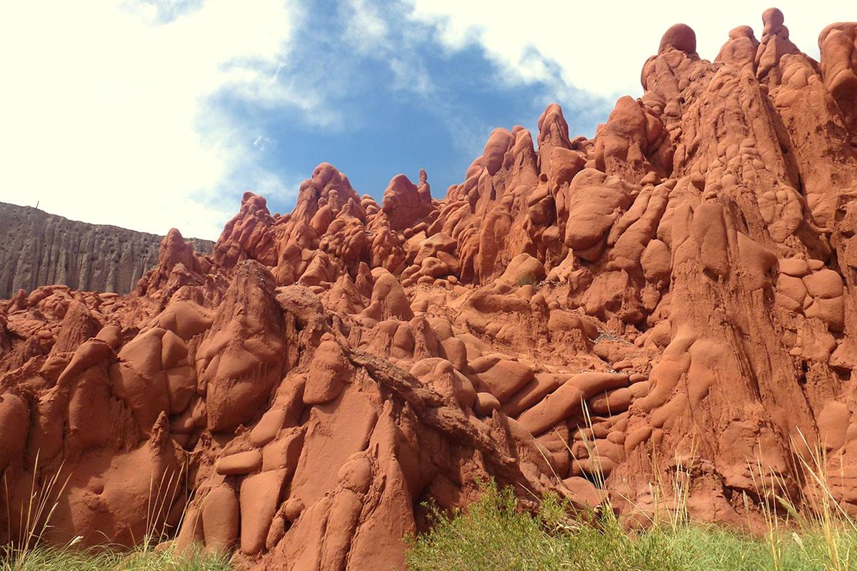 Cuevas de Acsibi en Seclantás