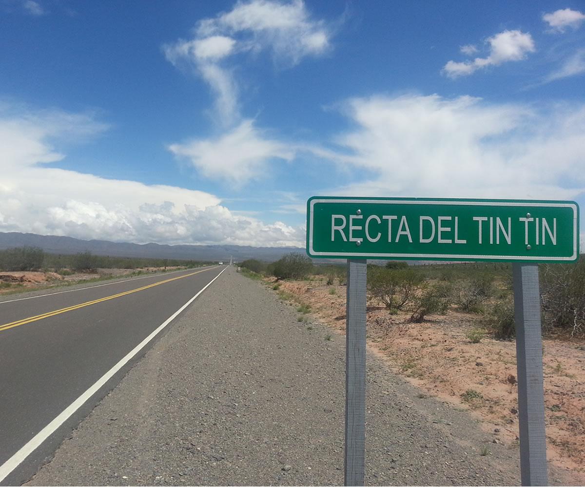 Recta de Tin Tin • Cachi, Salta - Argentina